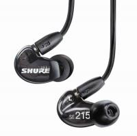 Shure SE215 Sound Isolating Earphones (Black)